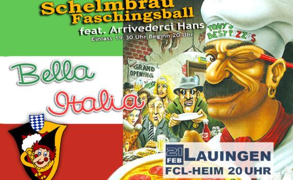Schelmbräu Faschingsball am 21. Feburar