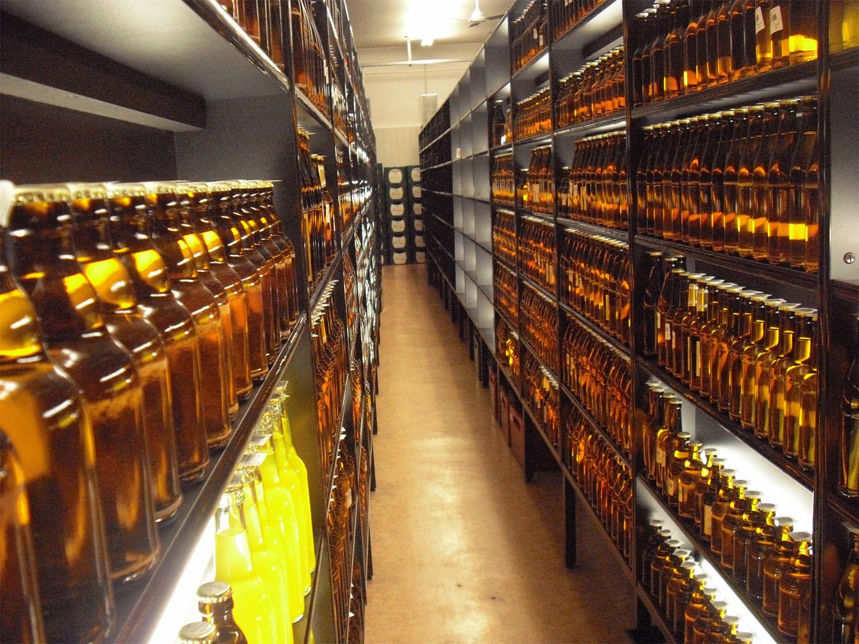 Die Rückstellproben in der Bitburger Brauerei